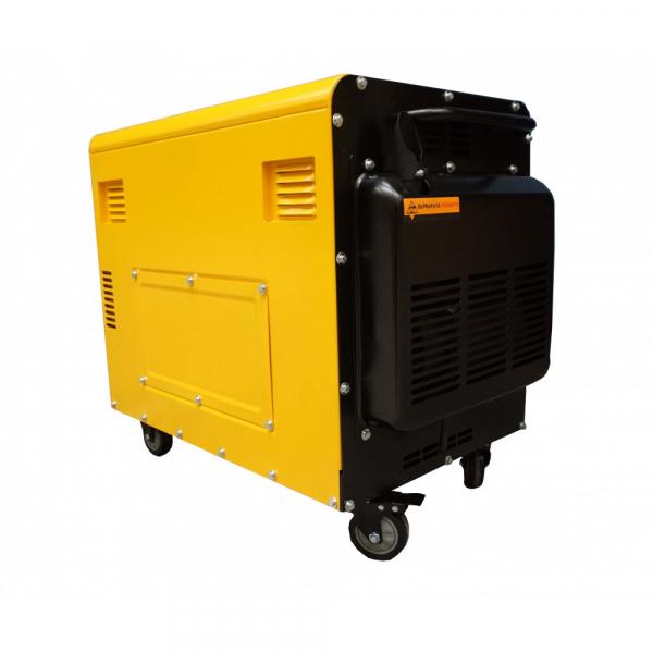Generator insonorizat Stager YDE7500TD, diesel, monofazat 1