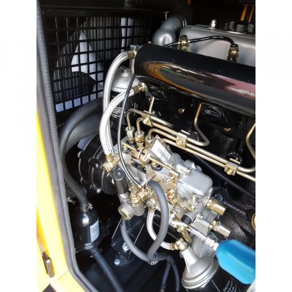 Generator insonorizat Stager YDY15S, silent 1500rpm, diesel, monofazat 2