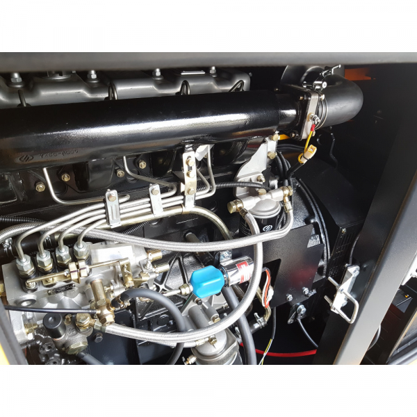 Generator insonorizat Stager YDY40S3, silent 1500rpm, diesel, trifazat 2