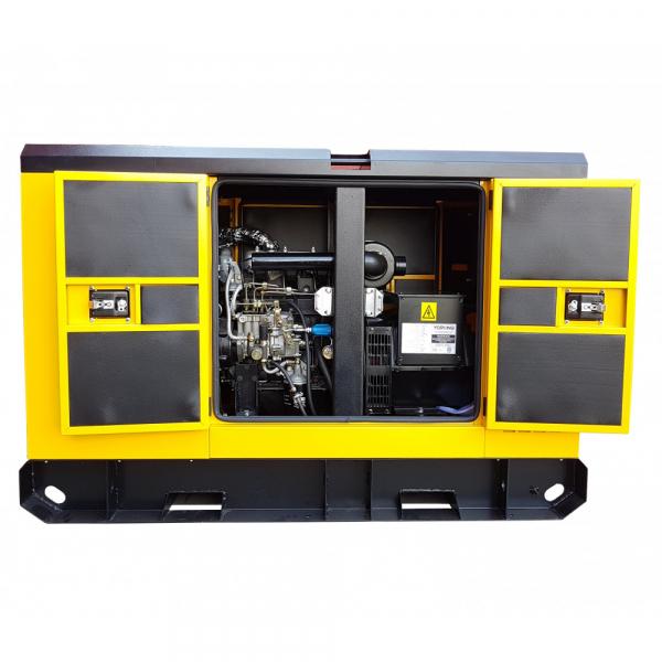 Generator insonorizat Stager YDY40S3, silent 1500rpm, diesel, trifazat 1