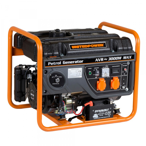 Generator open frame benzina Stager GG 3400E 0