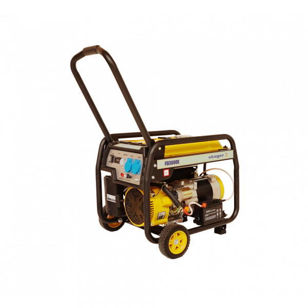 Generator open frame Stager FD 3600E [1]