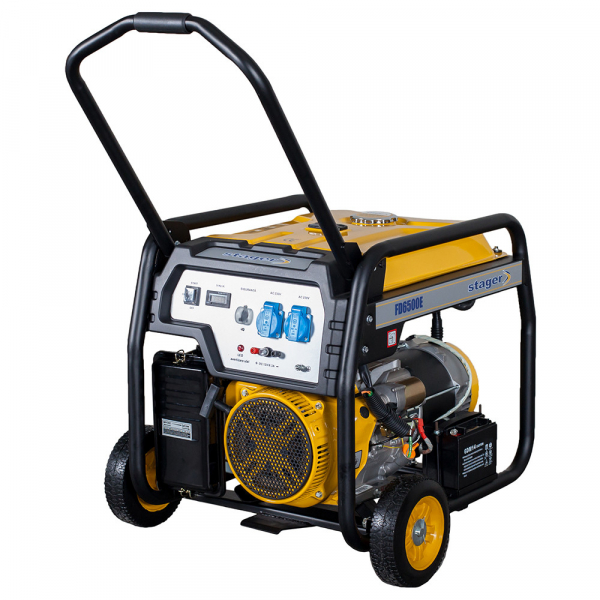 Generator open frame Stager FD 6500E 0