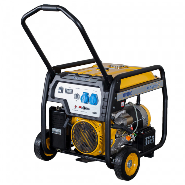 Generator open frame Stager FD 7500E 0