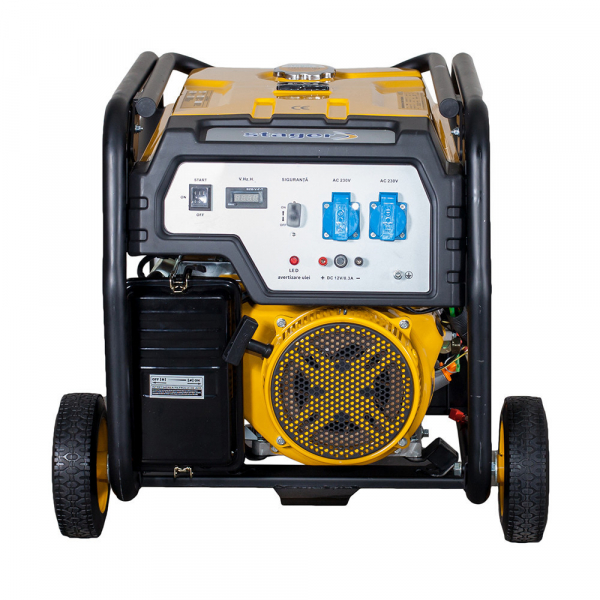 Generator open frame Stager FD 9500E 7kW, monofazat, benzina, pornire electrica 2