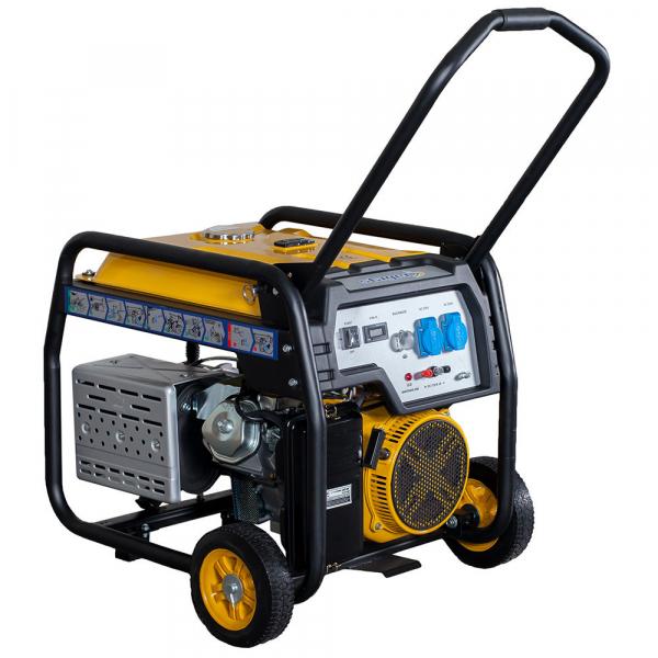 Generator open frame Stager FD 9500E 7kW, monofazat, benzina, pornire electrica 1