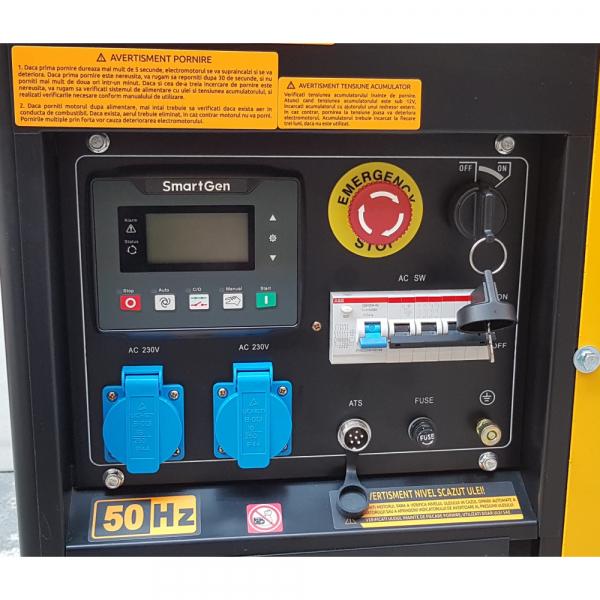 Generator uz general Stager YDE12E3, diesel, trifazat 2