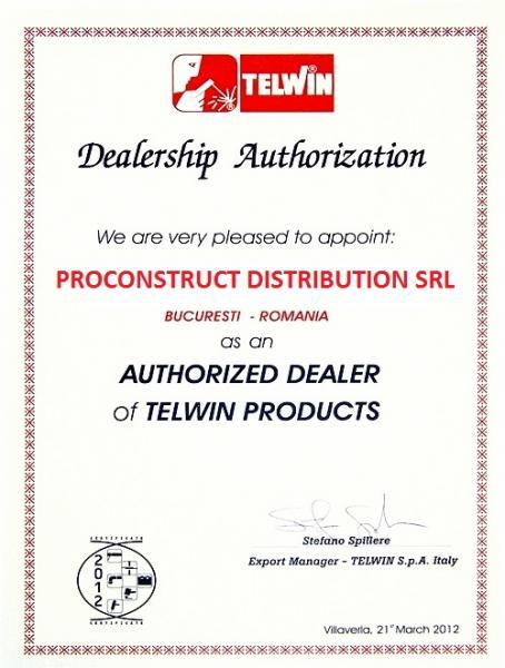 INFINITY 220 - Invertor sudura TELWIN 1