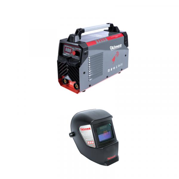 Invertor de sudura Almaz MMA SP300D 300 AZ-ES012 cu masca de sudura cu cristale lichide, reglaj automat [0]