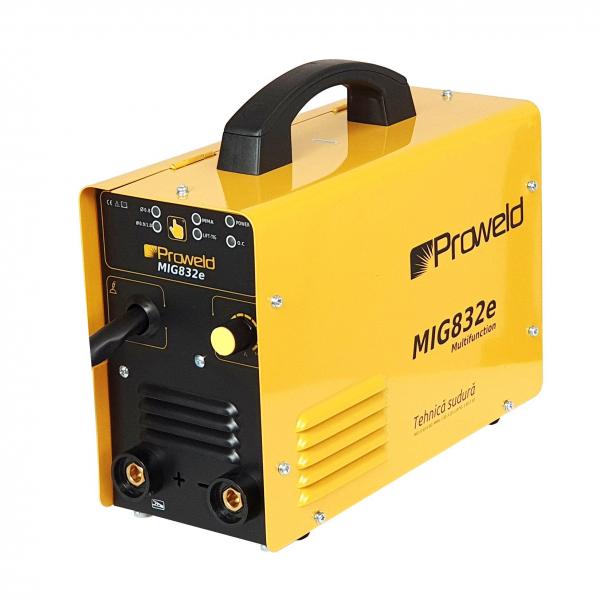 Invertor sudura MIG-MAG/MMA Proweld MIG832E, 140A, 60% sarma 0.6-0.8 mm, electrod 1.6-3.2 2