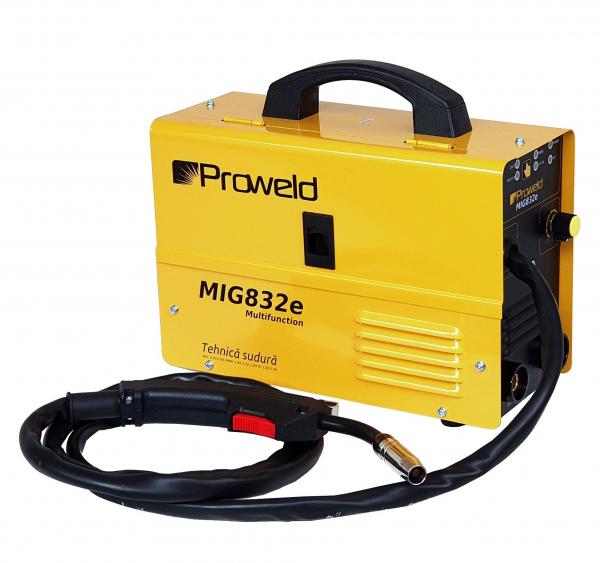 Invertor sudura MIG-MAG/MMA Proweld MIG832E, 140A, 60% sarma 0.6-0.8 mm, electrod 1.6-3.2 1