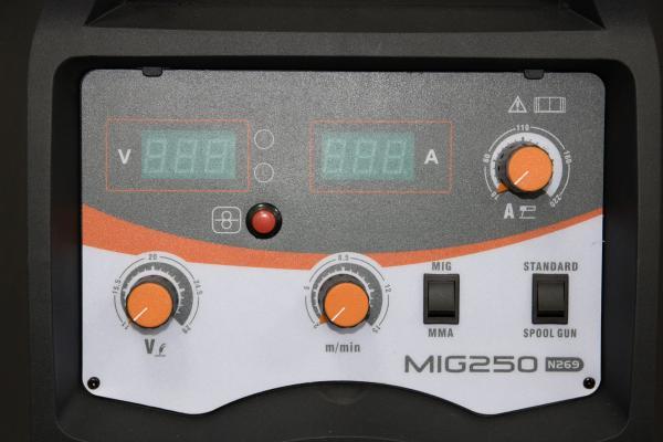 JASIC  MIG 250 (N292) -  Aparate de sudura MIG-MAG tip invertor 5