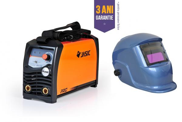 JASIC ARC 200 PRO - Aparat de sudura tip invertor + Masca cristale BLUE [0]