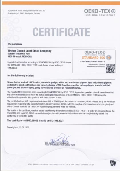 Masca de protectie reutilizabila din bumbac 100%, ALB/NEGRU/ROSU 1