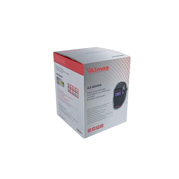 Masca de sudura cu reglaj automat Almaz BY433E-CENTAURY, DIN4/DIN9-13 nivel transparenta 1