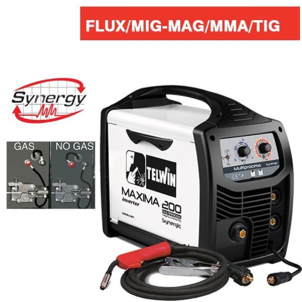 MAXIMA 200 SYNERGIC - APARAT DE SUDURA TELWIN tip MIG-MAG 1