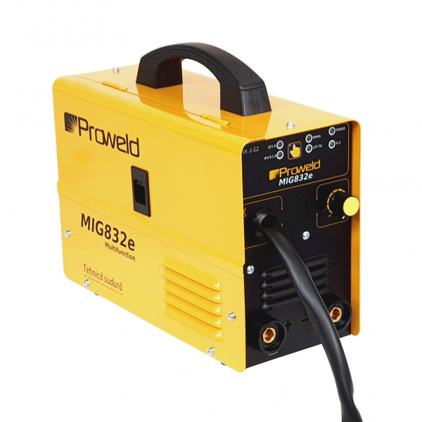 Invertor sudura MIG-MAG/MMA Proweld MIG832E, 140A, 60% sarma 0.6-0.8 mm, electrod 1.6-3.2 0