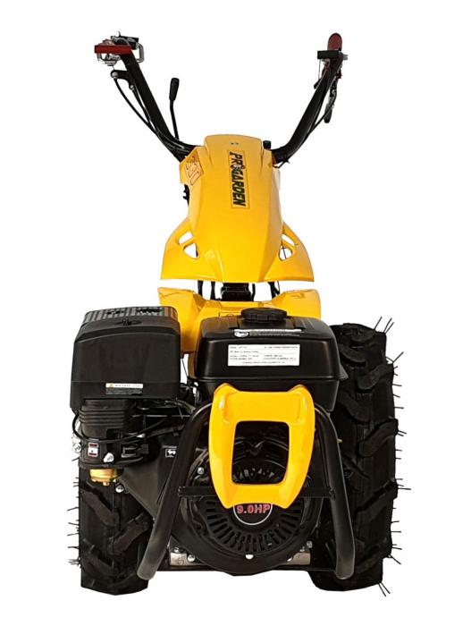 ProGARDEN Campo U9 motocultor multifunctional 9CP, benzina, 3+2 viteze, reductor [BT330/G177] [2]