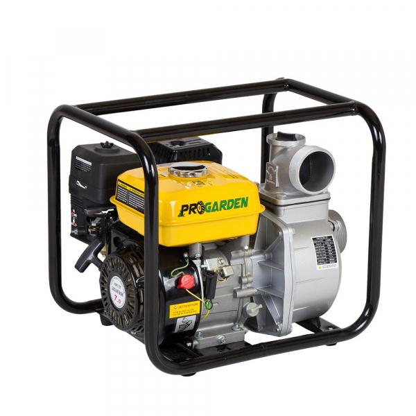 "Motopompa ProGARDEN PB335C, 3"", benzina, apa curata 0"