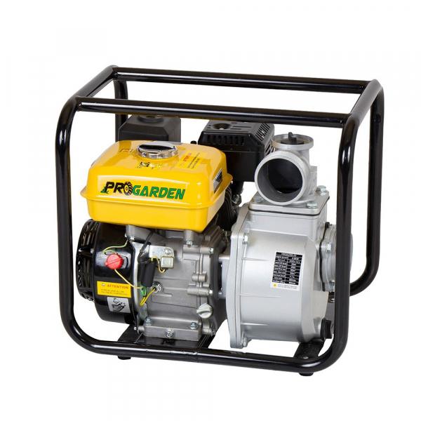 "Motopompa ProGARDEN PB335C, 3"", benzina, apa curata 1"