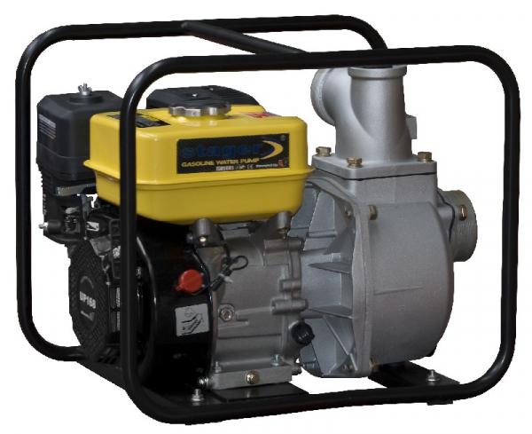 "Motopompa Stager GP80, 3"", benzina, apa curata 0"
