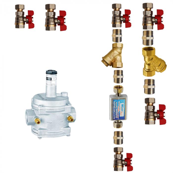 Centrala termica Motan Condens 050 24 kW, C34GV24-PV2, kit evacuare inclus si kit instalare [2]
