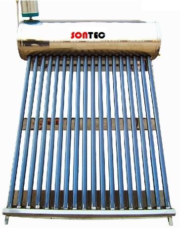 Panou solar nepresurizat Sontec SP-470-58/1800-122/15-C cu boiler 122 litri si 15 tuburi 0