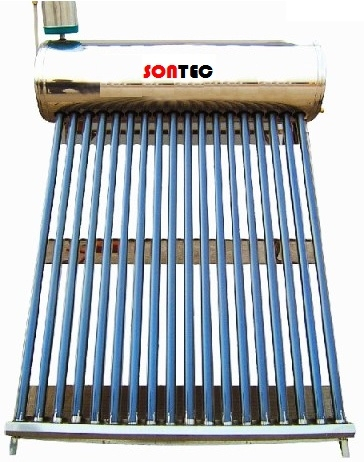 Panou solar nepresurizat Sontec SP-470-58/1800-165/20-C cu boiler 165 litri si 20 tuburi 0