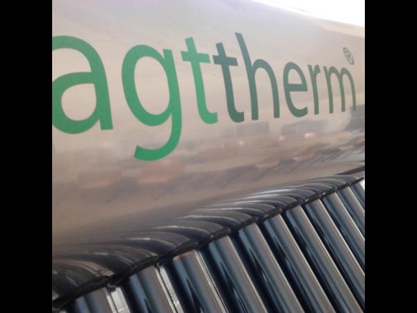 Panou solar cu tuburi vidate SPTV 200 AGTtherm - 20 tuburi, boiler 200 litri (cu sistem rapid) 1
