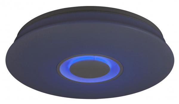 Plafoniera LED RGB cu boxa Rabalux Murry 4541, 24W, 1440 lm, dimabil, Bluetooth, Telecomanda, Alb 0