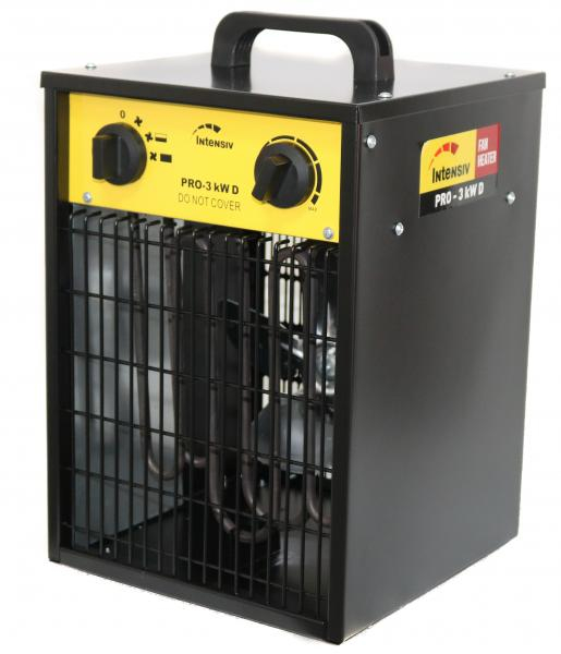 PRO 3 kW D - Aeroterma electrica INTENSIV, 230V [1]