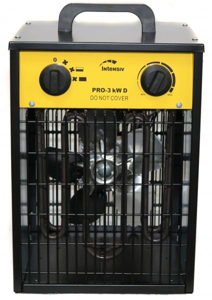 PRO 3 kW D - Aeroterma electrica INTENSIV, 230V [2]