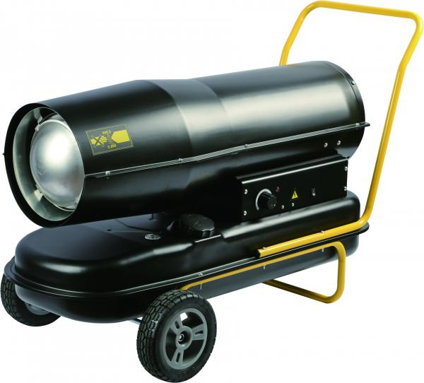 Tun de caldura Intensiv PRO 60kW Diesel - Tun de caldura pe motorina cu ardere directa 0