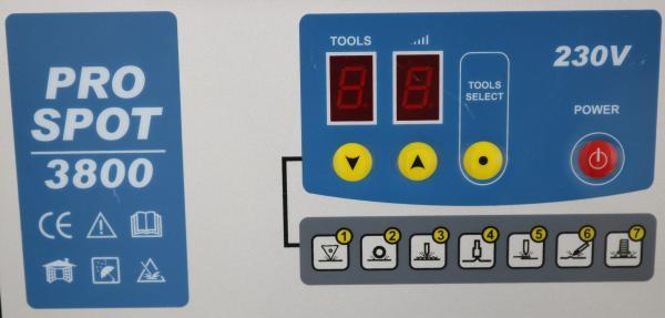 PRO SPOT 3800 230V - Aparat pentru tinichigerie auto 2