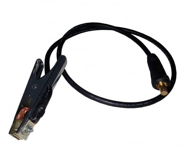 ProWeld MCS-300 - Cablu sudura 1.5m cu cleste masa 300A, conector cablu 35-50 [0]
