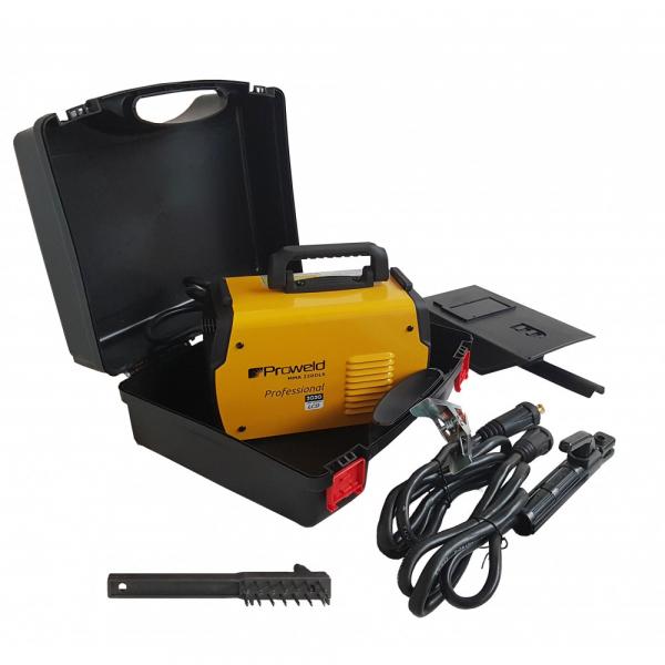 Proweld MMA-220DLS-LCD aparat de sudura Invertor + valiza de transport, Garantie 3 ani [7]