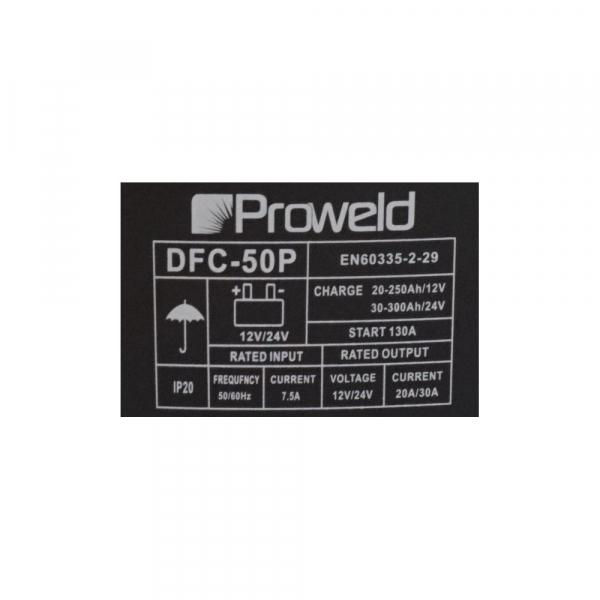 Redresor auto ProWeld DFC-50P 2