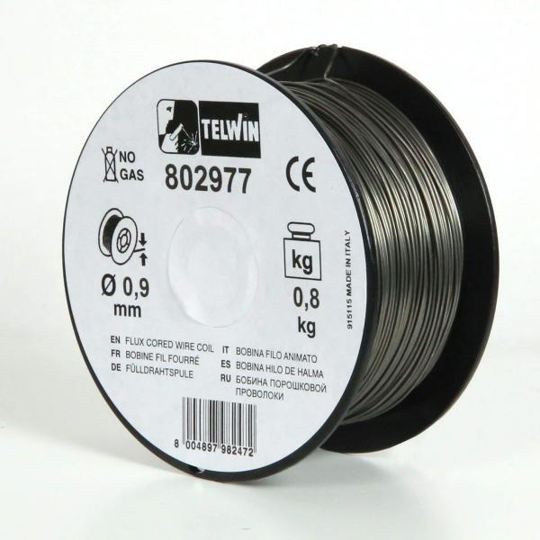 Sarma sudura cu flux Telwin 0.9 mm rola 0.8 kg - pentru sudura fara gaz 2