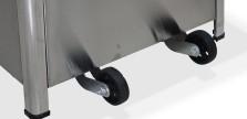 Set 2 roti pentru incalzitor terasa Zobo H1501 0