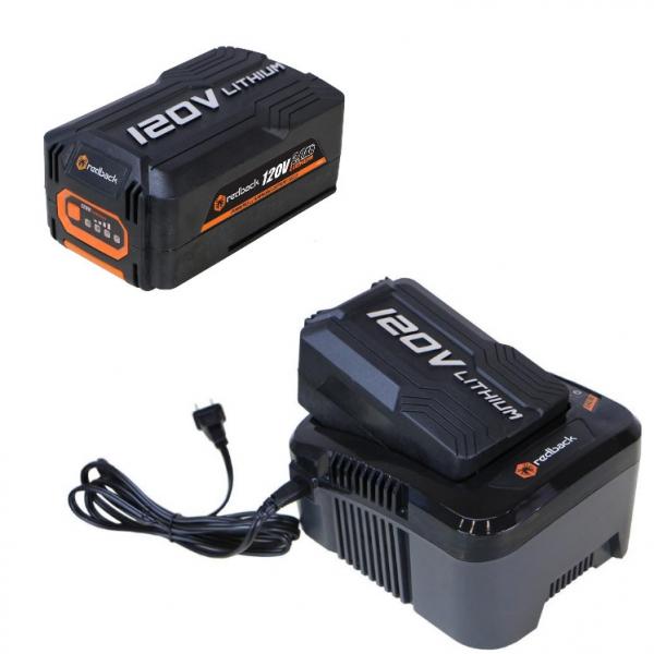 Set Redback powerpack 2 acumulatori Li-Ion EA20 120V/2Ah + incarcator EC130 120V/1A [0]