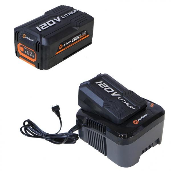 Set Redback powerpack acumulator EA20 120V/2Ah + acumulator Li-Ion EA30 120V/3Ah + incarcator EC440 120V/3.5A [0]