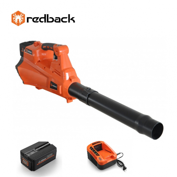 Set Redback suflanta frunze E435C 40V + acumulator Li-Ion EP60 40V/6Ah + incarcator rapid EC50 40V/5A [0]