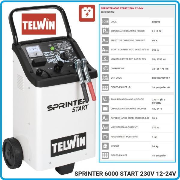 SPRINTER 6000 START -  Robot produs de TELWIN 1