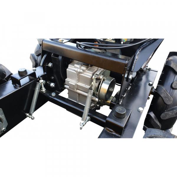 Stager RMT300 roaba cu motor termic 6.5CP, 300kg, 4 roti, basculabila, tractiune integrala, diferential [5]