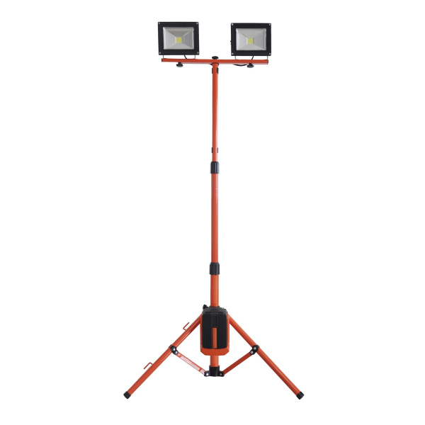 Stand 2 proiectoare cu led 2x20W Redback ED40 [0]