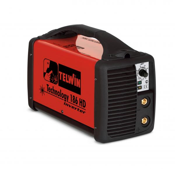 TECHNOLOGY 186 HD - Aparate de sudura Telwin tip invertor - fara accesorii 0
