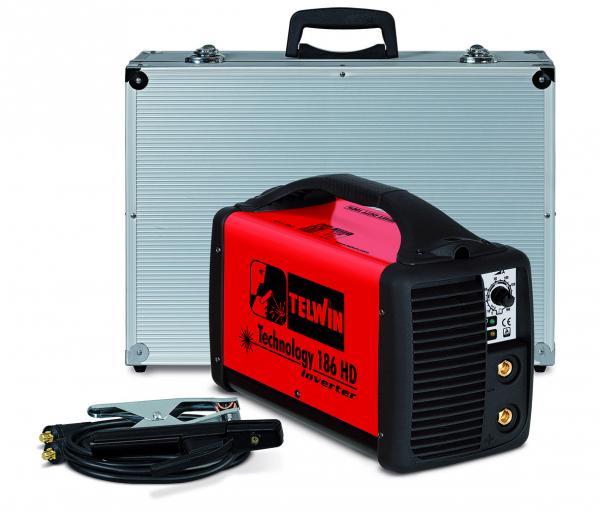 TECHNOLOGY 186 HD - Invertor sudura TELWIN + valiza de transport si accesorii 0