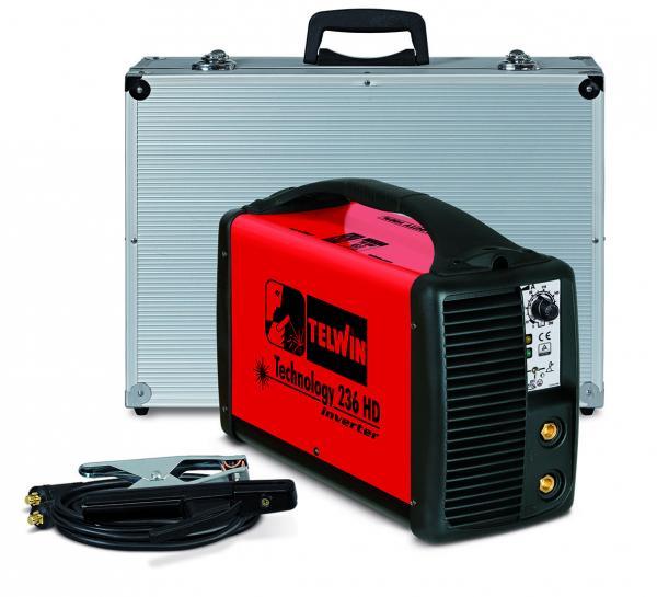 TECHNOLOGY 236HD - Invertor sudura TELWIN + valiza de transport si accesorii [0]