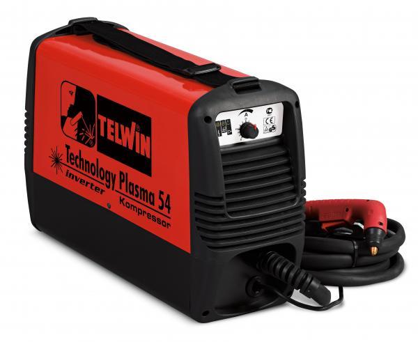 TECHNOLOGY PLASMA 54 KOMPRESSOR  - Aparat de taiere cu plasma Telwin [0]