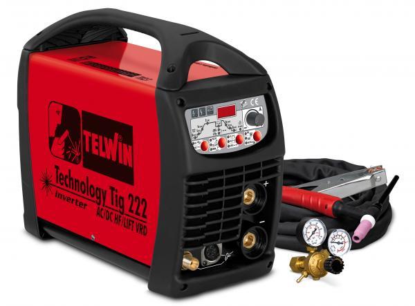 Technology Tig 222AC/DC - HF/LIFT - APARAT DE SUDURA TELWIN tip TIG 0